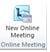new online meeting