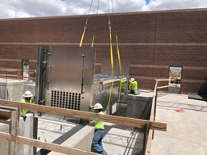 crane loading equipment