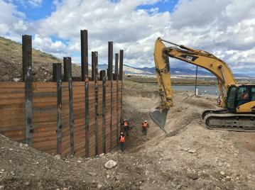 construction equipment digging